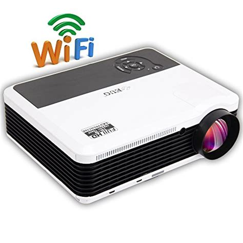 Eugx88 Projector Wifi Android Led Hd Proyektor 3600 Lumen Presentasi eug new x88 a android bulit in wireless wifi 3d hd 1080p home office led projector lcd