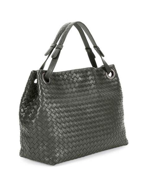 Bottega Veneta Vachette Medium Pouch Black bottega veneta medium intrecciato shoulder bag in black lyst