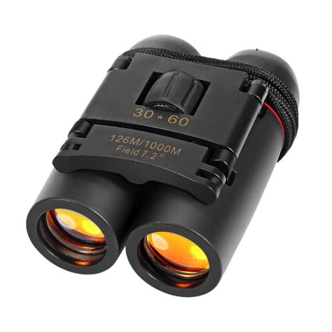 Binoculars High Definition Vision Concert 30 X 60 Teropong Bin day high quality vision 30 x 60 zoom outdoor travel folding binoculars telescope 126m