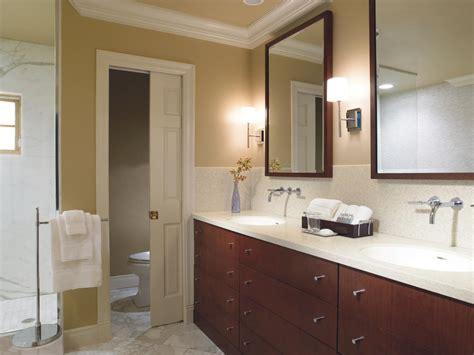 bathroom remodel splurge  save hgtv