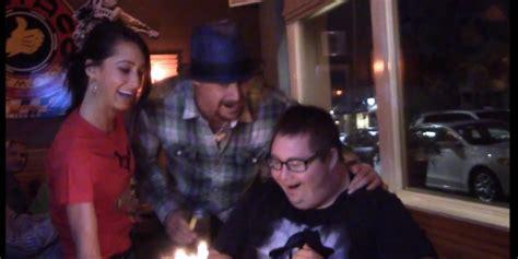 kid rock fan kid rock surprises fan with on his birthday