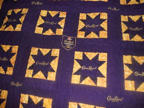 s quilts and crafts crown royal quilt finished