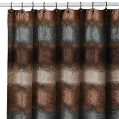 Chocolate Teal Curtains Brown Blue Shower Curtain For The Home Pinterest