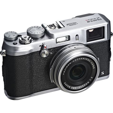 Kamera Fujifilm X100s Silver fujifilm x100s 16mp cmos ii sensor 23mm f 2 lens digital