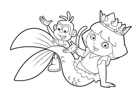 dibujos infantiles para colorear en online im 225 genes para colorear de dora colorea online gratis