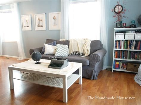 blue couch what color walls grey couch blue walls white furniture a happy home