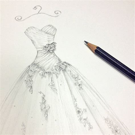 wedding dresses drawings 2017 pencil dresses ideas drawing drawing ideas