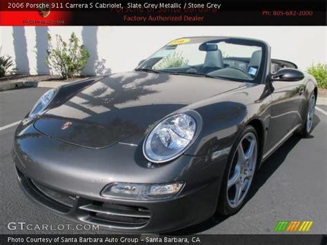 porsche slate gray metallic slate grey metallic 2006 porsche 911 s cabriolet