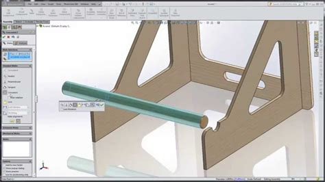 solidworks tutorial assembly mates solidworks 2015 tutorial 012 assembly width mate youtube