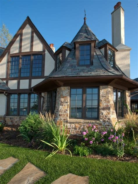 tudor revival cottage