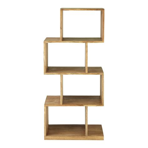 l etagere 201 tag 232 re en bois de sheesham massif l 55 cm stockholm