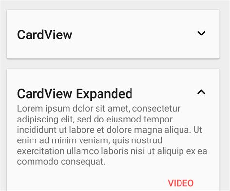 android layout expand animation android expand and collapse cardview stack overflow