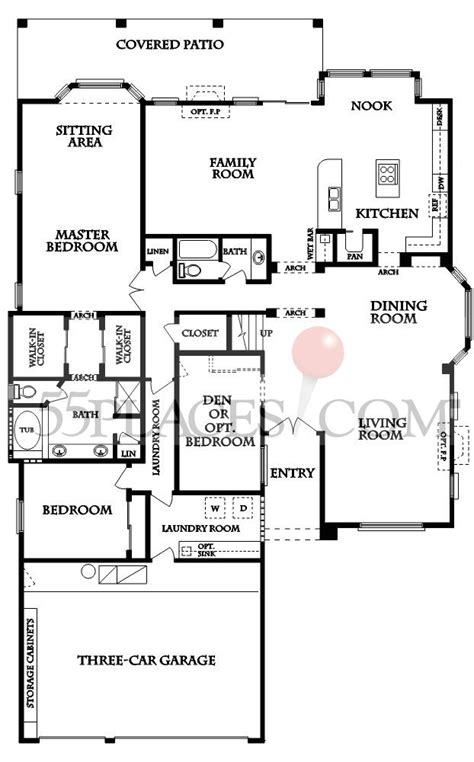sun lakes floor plans galleria floorplan 2610 sq ft sun lakes 55places com