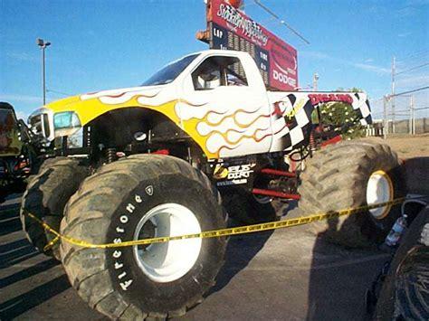 monster truck show stockton monster trucks at stockton 99 july 2002