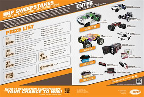 Rc Giveaway Contest - hrp sweepstakes rc car action