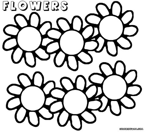 coloring pages big flowers big flower coloring pages coloring pages to download and