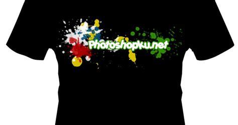 Daftar Baju Pencak Silat design kaos dengan photoshop 3 persinas asad lumajang