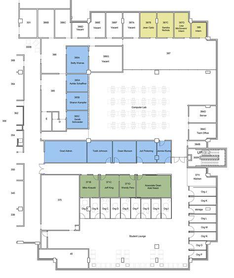 scheme design uwm engineering 3rd floor redesign community design