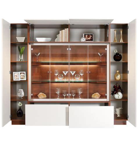 jamison display cabinet modern glass curio concealed