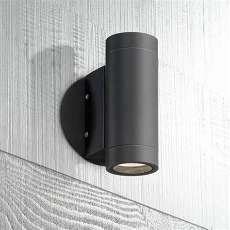 possini outdoor wall light possini design black outdoor led up and wall