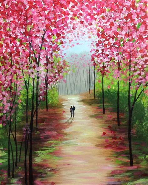 spring paint 1000 ideas about acrylic canvas on pinterest mandela