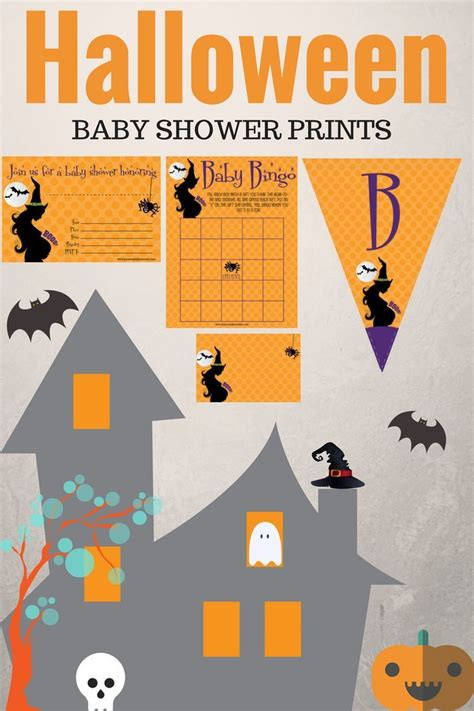 free printable halloween baby shower invitations 274 best printmybabyshower com images on pinterest baby