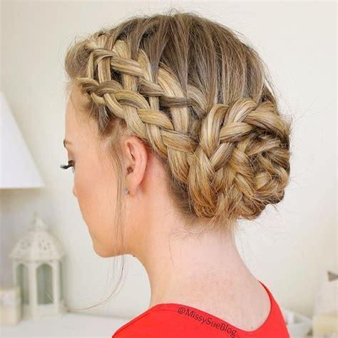 waterfall braid bun 28 diy hairstyles flashbackfriday to the waterfall dutch french braid