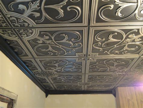 faux tin ceiling tiles cheap exceptional how to make faux tin ceiling tiles 5 heuriskein