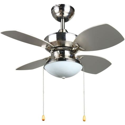 ceiling fans with good lighting transitional 28 inch ceiling fan in brushed nickel by
