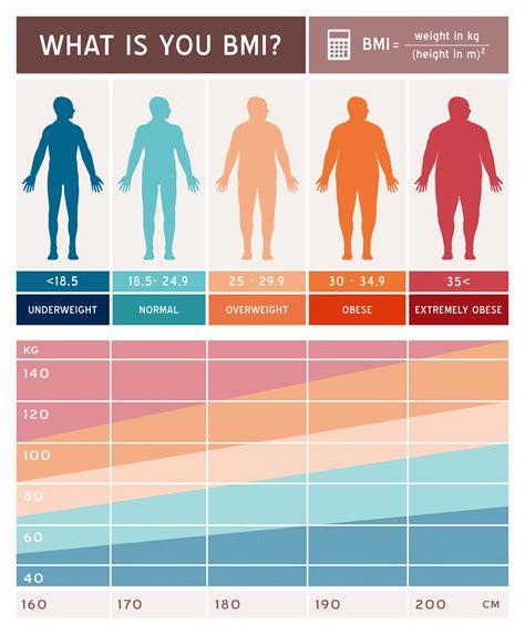 bmi body mass index chart