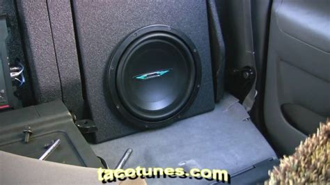 Toyota Tacoma Subwoofer How To Install Subwoofer In Your Toyota Tacoma 2005 2006
