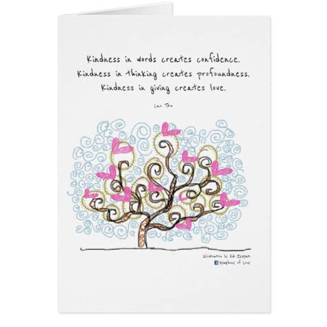 Thank You Letter Kindness Thank You For Your Kindness And Cards Zazzle