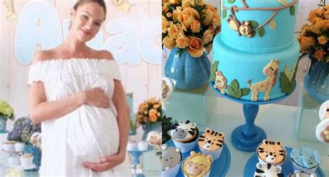 Candice Shower by Inside Candice Swanepoel S Animal Themed Baby Shower