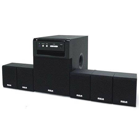 rca rt151 5 1 home theater system