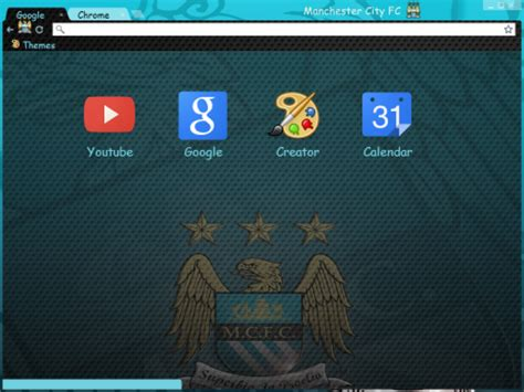 theme google chrome manchester city manchester city mcfc dark theme chrome theme themebeta