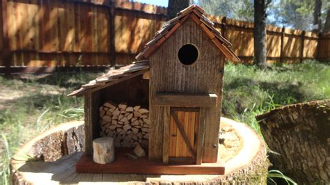 Handmade Bird House - handmade bird house