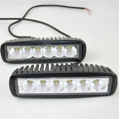 2017 Us Stock 12 Volt 18w Led Work Light Bar L 12v Led 12 Volt Led Light Bar