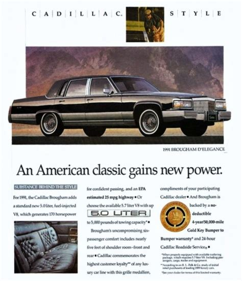 cadillac television ads personalities cc tv cadillac style more goodness from the early 90s