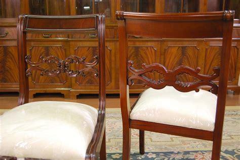 duncan phyfe dining chairs mahogany dining room chairs empire duncan phyfe chair ebay