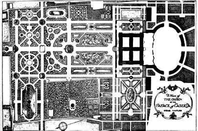 palace of caserta floor plan late baroque garden design in italy