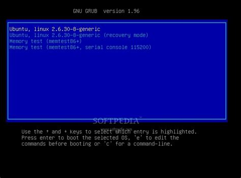 ubuntu 9 10 preview grub 2 open source content from the