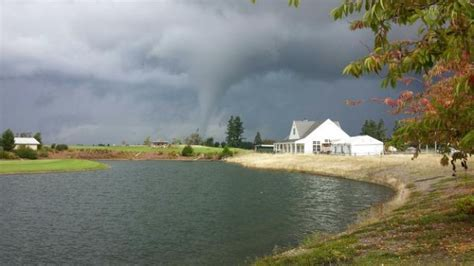 funnel cloud at the home course