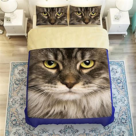 kitten bedding set adorable cat print comforters and bedding sets for cat