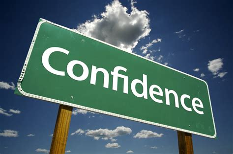 Be Confident increasing your confidence