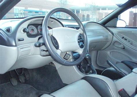 1999 mustang interior bright atlantic blue 1999 roush limited edition 35th