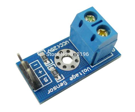 25v Voltage Sensor Module dc 0 25v voltage sensor module with code for arduino in integrated circuits from electronic