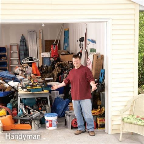 Building A Wall In A Garage by Building A Garage Storage Wall The Family Handyman