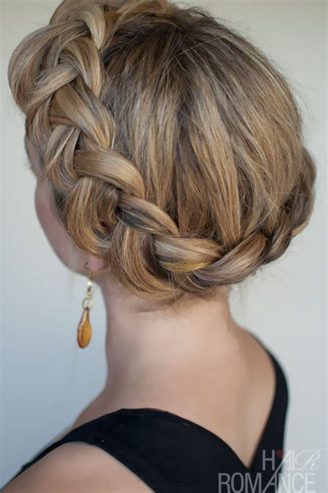 crown twist braid on hair dutch crown braid simple casual dutch braid updo