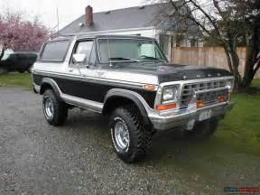 1979 ford bronco black silver xlt r picture supermotors net