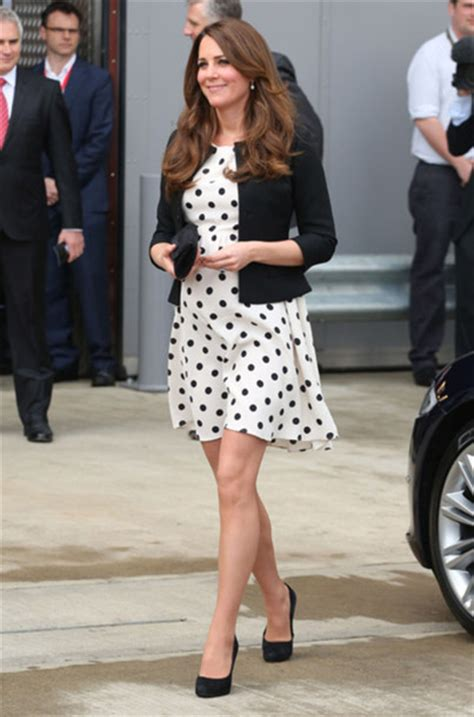 Get Kate From Topshop by Dress Polka Dots Black And White Skater Dress Topshop